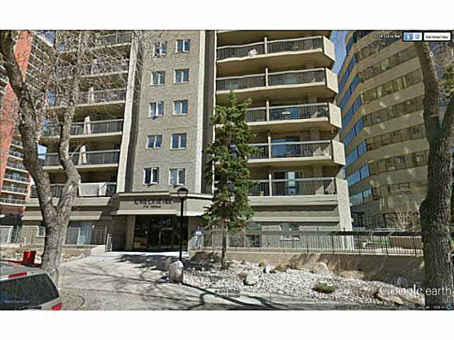 Are you looking for a Beautiful 2 bedroom 2 bathroom condo in an amazing location? This unit is close to downtown, the U of A and just 1 block from the Grandin LRT station! This west facing 7th floor unit has a great view of the river valley and parts of the U of A. Inside you will find a generous combination living/dining room, open kitchen with plenty of cabinets and an eating bar. Down the hall is your 2nd bedroom followed by a large master complete with a 3 piece en suite. The unit also has a large storage room, in-suite laundry and a full bath. Brand new laminate has just been installed throughout and the unit has been completely painted. The condo has been professionally cleaned top to bottom and is move in ready! Whether you enjoy the view from your balcony or walk the river valley, enjoy the parks or go for a round of golf you will certainly enjoy your new home. The condo fees include all the utilities (water & sewer, power and heat) plus parking.
