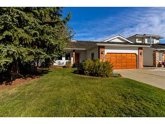 WOW! Check out this Large Salvi Built Bungalow in the much desired neighbourhood of Craigavon. If you like lots of natural light, you'll love all of the windows and vaulted ceilings in this home. Open your front door to a open concept plan with generous sized living room, dining room & kitchen. A unique brick column with a gas fireplace is a conversation piece for quests. There is a good sized family room and a den with glass-paneled doors that would make a perfect office. Off of the kitchen is an enormous deck that stretches the length of the back of the house. it overlooks the yard and is perfect for entertaining or relaxing. A good size laundry room, 2 pc bath and a Great Master Bedroom with a ensuite complete the almost 1700 sqft main level. Go Down The Spiral Staircase to find the 2 large well-lit bedrooms, a rec room and a bathroom with a double vanity. If you want to live on one of the best Cul-de-sacs in Sherwood Park, this is a must see. Think location, location, location.