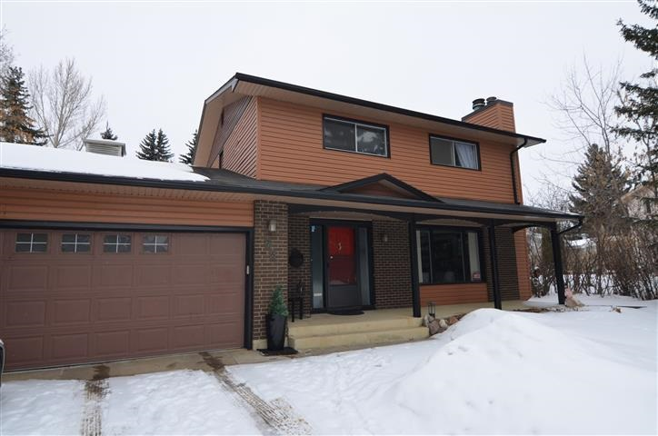 Lovely remodeled 2 Storey in Desirable Westbrook Estates. You can build your future dream home on this huge 11,935 sq. ft. pie shape lot or add your personal touch on this solid 2 Storey. Large Living Room/Library area, with Corner Fireplace, indirect lighting, formal Dining Room & Coffee Bar, Hardwood, Rock & Acid washed Ceramic Tile articulate the main floor. Modern Kitchen with bay window looking onto the massive Mature Treed & Quiet Backyard as well as adjacent Sunken Family Room that hosts a high efficiency Wood Burning Fireplace on rock accent wall, and reading nook. Spacious Mudroom with lots of cupboard space just off the Attached Double Garage and lovely 2-pce washroom on the main floor. The 2nd floor boasts 4 Bedrooms and a 4-pce newly Renovated Bathroom. In the Oversized Master, you have a large Private Deck, Walk-in Closet & newly developed 3-pce Ensuite. The basement boasts a 3rd Fireplace with gas lighter, 2nd Family room, 3-pce Bathroom, Laundry & fully finished storage area.