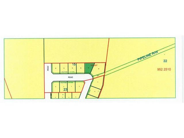 """DEER CROSSING ESTATES LOTS."" Lot 21  Located in the Village of Breton, approx. one hour SW of Edmonton these beautifully treed lots offer a variety of building options.  Lots 5 - 8 provide frontage of 85 to 115 ft, lots 22 to 25 offer 90 ft. frontage, all are 118 - 124 ft deep.  Lots 21 & 22 are irregular and closest to Breton's popular nine hole golf course.  This is a new neighborhood with modern homes.  Modular designed homes are acceptable (restrictive covenant applies).  Breton combines retail, professional, and community services with peaceful rural lifestyle living.    Breton is located within a half hour of both Pigeon Lake and Buck Lake, providing many recreational opportunities and an easy commute to Drayton Valley, Leduc/Nisku and the International Airport. GST is included in the price and the Village will put in a driveway on each lot."