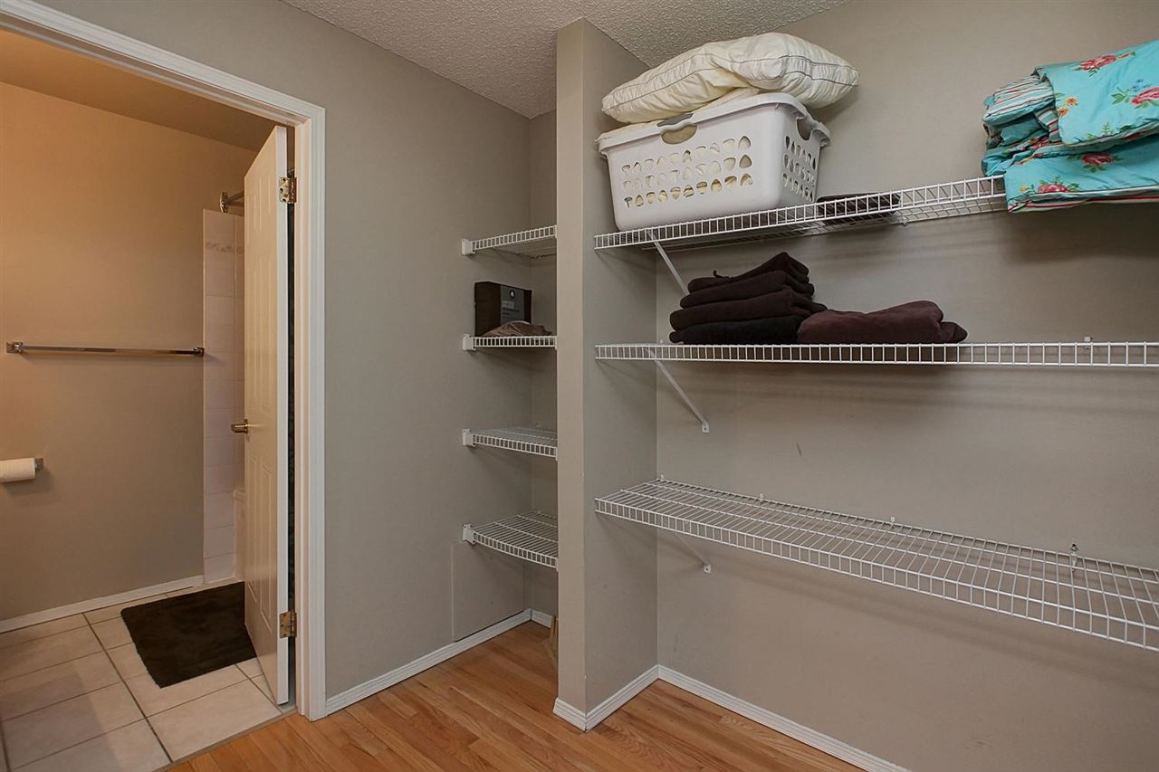 What a lot of space you will enjoy in the walk through closets. You can basically keep everything you own organized in this area.