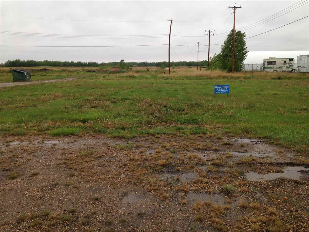 Vacant lot-cleared and ready for development. Services to Lot with potential building incentives.  This lot measures 61.25 ft x 140 ft.   The Village of Holden is located approximately 55 minutes east of Edmonton on HWY 14 and offers a K-6 Elementary School plus numerous recreational and cultural opportunities.
