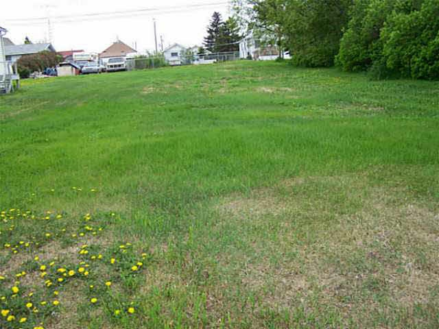 Vacant lot-cleared and ready for development-services to lot. Potential for building incentive.  This lot measures 50 ft x 140 ft.   The Village of Holden is located approximately 55 minutes east of Edmonton on HWY 14 and offers a K-6 Elementary School plus numerous recreational and cultural opportunities.