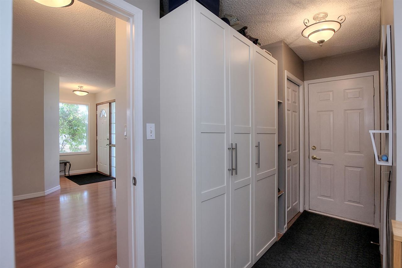 The entrance area from the garage into the house is super organized with the addition of the pax units you see here. There is no reason to be unorganized in this home.