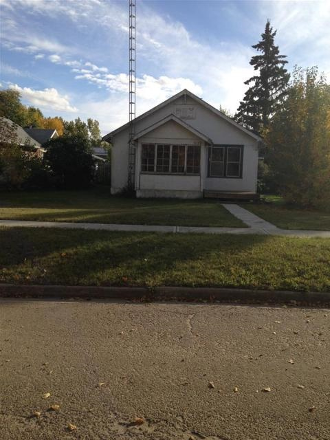 Large 50' X 140' corner lot close to school, hospital and clinic in the town of Viking. Small bungalow is uninhabitable and garage is older with little or no value. This would be a good location to build your dream home.