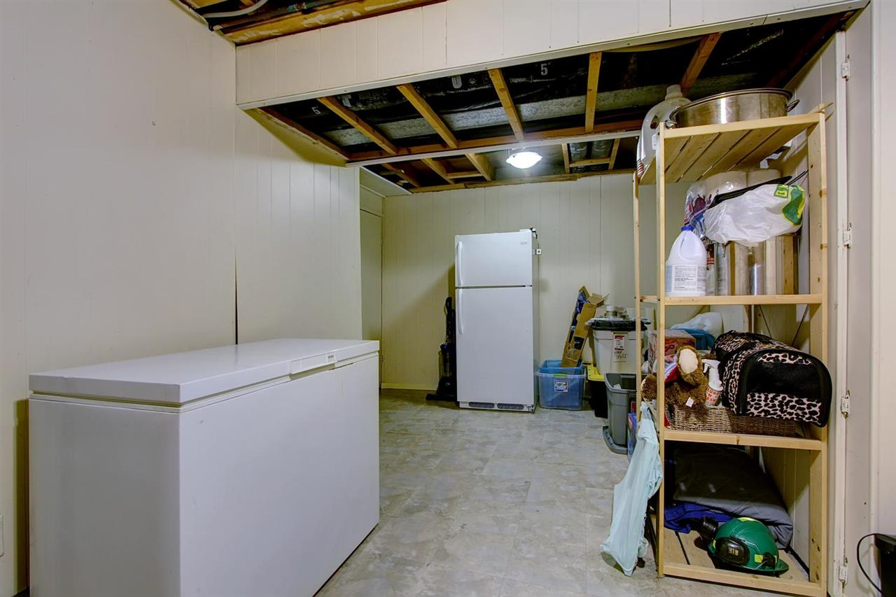 The lowest level has been insulated, dry walled and could easily become a play room or keep as is for storage. There is also a crawl space for even more storage room.