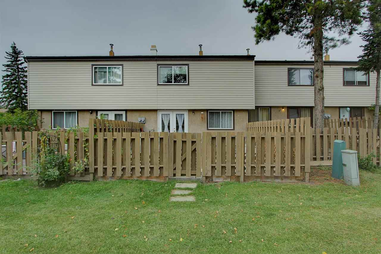 The back exterior view shows the green space behind your fence.