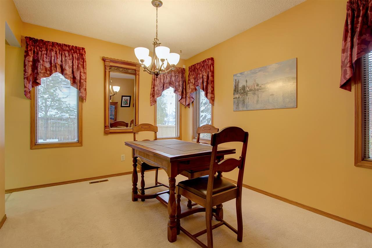 The formal dining room also has a total of 5 windows on two different walls. Your formal meals will be enjoyed in this space which does NOT look into the perhaps messy kitchen after you have worked all day creating a great meal.