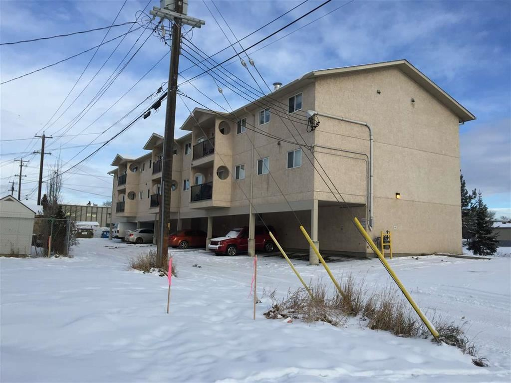 This is a 2 bedroom condo with a covered parking stall. Unit is vacant and shows well. It has in-suite laundry (portable washer). Appliances are in good condition. Convenient location. Good property for first time buyer or investor.