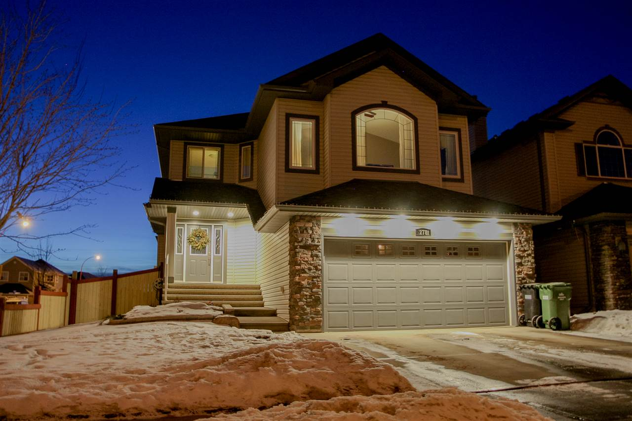 Before looking any further come see this fully developed 2000sq ft 4 bedroom, 3.5 bathroom 2 storey in Southfork. With 3 playgrounds, walking trails, lake, community garden & new K-9 school, this is Leduc?s most sought after family neighborhood. Main floor features brand new hardwood & cozy gas fireplace w/beautiful maple mantle. Rich espresso cabinets & granite counters, w/decorative tile backsplash. Sliding patio doors lead to deck & add to the abundance of natural light. Maple railing, bonus room w/vaulted ceilings, perfect for playoffs & family movie nights. Spacious master has 5pce ensuite w/his n her sinks & jacuzzi tub. Professionally developed bsmt offers 700+ sq ft extra living space w/lg rec room, perfect kids play area. 4th bed & full bath allow privacy for overnight guests (and for you too). Central air. Situated on a corner lot, this home offers added convenience to load up your RV, w/o the headache of extra shoveling as city does main path. EZ access to Hwy 2 for Nisku & Edmonton.