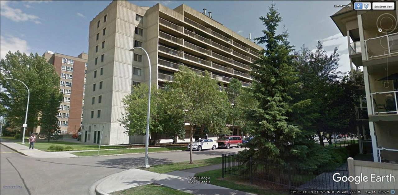 Very well maintained 1 bedroom condo in a great location close to the LRT and Bus Station. Easy access to all Edmonton has to offer whether you use public or private transportation. A number of upgrades were completed years ago and they still show good today. These upgrades included laminate flooring, new interior doors, paint through out plus a bathroom refresh. Appliances were also put in at that time. Entering this spacious unit, 1st is a galley style kitchen takes you into the cozy dining room, which flows through into the large living room. Off the living room is a full length east facing balcony. A short hallway leads you to the large master bedroom complete with a double and single closet. Just outside the bedroom you will find a massive in suite storage room. Completing this great unit is a full bath and entry closets. The unit comes with 1 parking stall conveniently located within view off your balcony.