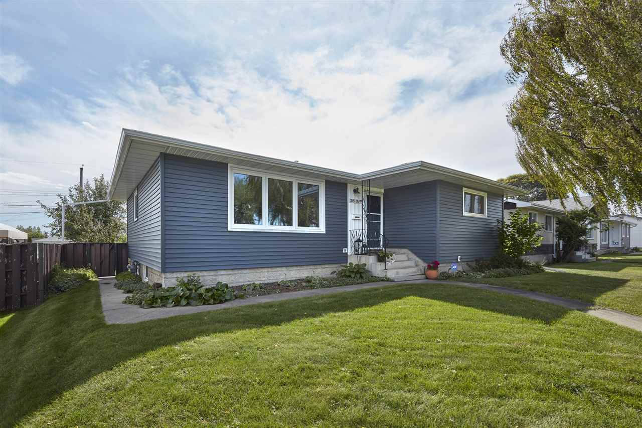 The location you have been waiting for ? directly in front of a park!  This completely renovated (inside & outside) bungalow  has 1192sqft on the main floor plus a fully finished basement totalling over 2199sqft of developed living space! 4 beds, 2 baths & more - all located on a fully landscaped 7700sqft (55x140) lot with an oversize detached double garage! Entering the home you will notice all of the stunning renovations throughout & new windows! The bright living room is open to the dining room & connects to the beautiful NEW kitchen with upgraded cabinets, new appliances & ample storage.  Down the hallway is the spacious master bedroom, 5 piece bath & 2 add?l beds ? both a good size. Downstairs you will love the family room open to the den & on into the fitness/playroom, 4th bed, 3 piece bath, laundry room & storage complete the basement. Outside you will enjoy the large decks & beautifully landscaped yard. Close to all amenities/schools/shopping! New furnace, New AC, New Shingles, New Windows & More!