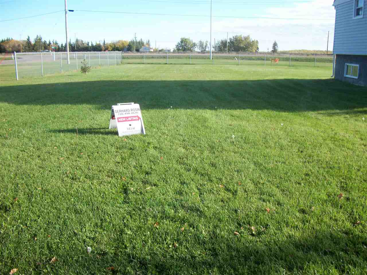 Lowest price for a lot in Chipman. All utility services available. Paved road access. A great place to build your dream home or buy the house next door at the same time for a great price and use the lot to store your toys. This is a great deal here in Chipman.