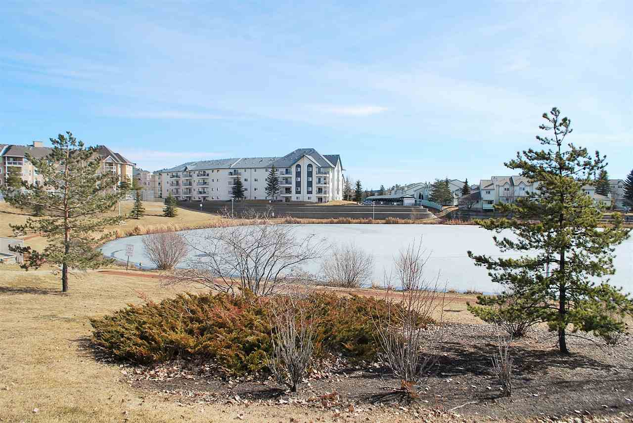 A 3 Bedroom Condo for only $189,900 !  How can you not picture yourself living here? Walking distance to Safeway, Superstore, Restaurants, Schools, Parks and WEST EDMONTON MALL ! This 3 BEDROOM CONDO has many amazing features including a VIEW OF A POND & WALKING TRAIL. This massive 1130 sq. ft condo is located in a well run complex with many upgrades recently done to the entire building. Inside the unit you will find a spacious kitchen with great appliances, a large dining area open to the bright and sunny living room. The deck is large and inviting, a great place to sip your morning coffee while taking in the glorious view. The master bedroom is massive and features a walk through closet and  4PC. ENSUITE !!! The additional 2 bedrooms are also a great size and there's a 4pc. main bathroom off the front entry. The in suite laundry is spacious and features extra storage space. All this could be yours !!!