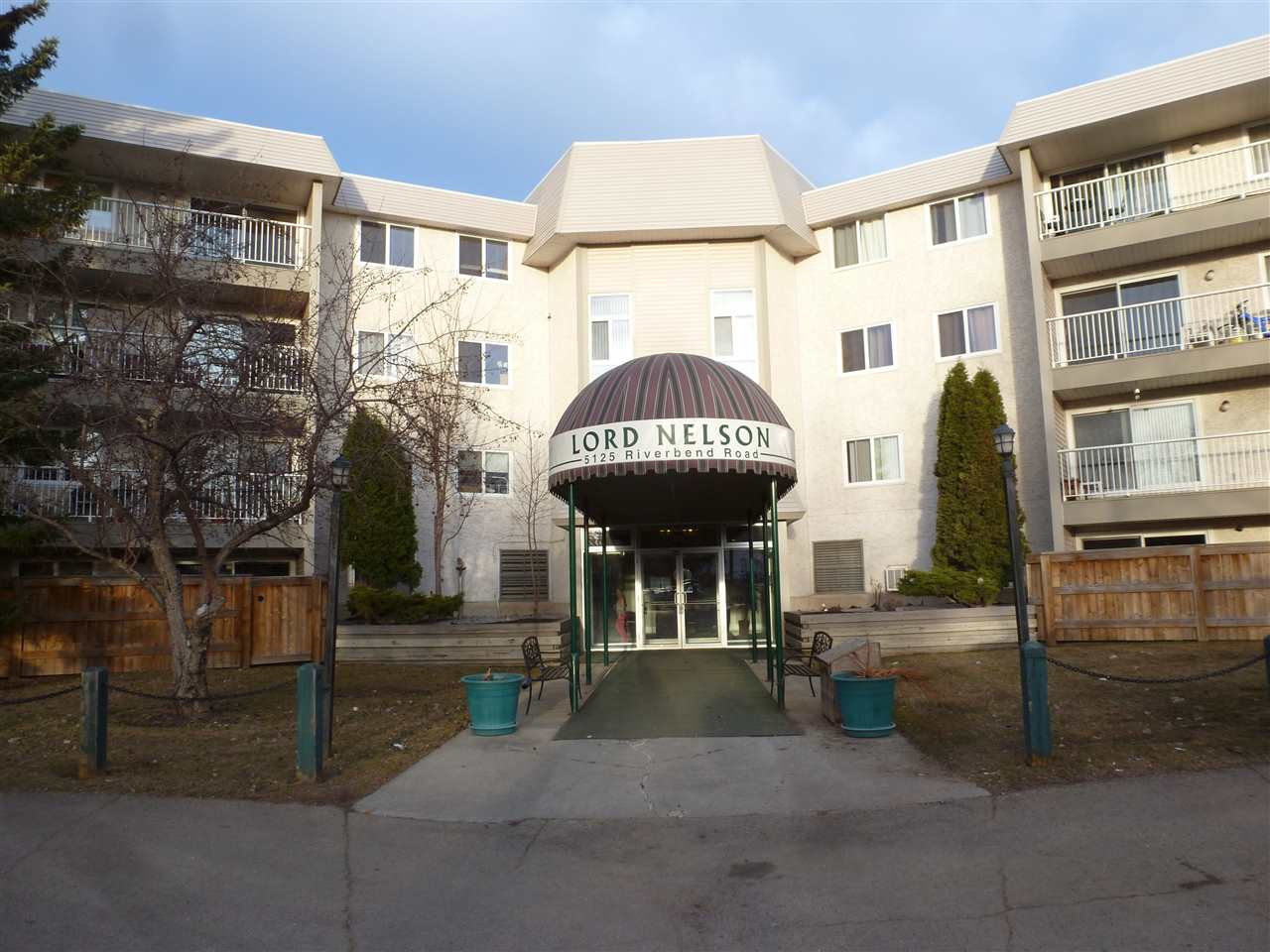 **Just Listed** Very spacious 3-Bedroom/2 Bathroom Condo(1150 Sq Ft) on the 3rd Floor at the Lord Nelson in Riverbend/Brandner Gardens. Features newer laminate flooring, windows and  upgraded blinds, galley kitchen, Balcony. Massive and marvellous black wall unit in Living Room will stay. Comes with 2 Outside Parking Stalls. The Lord Nelson also features an Indoor Swimming Pool and HotTub off the main floor. Guest Suites and Visitor Parking is also available. Great location too - close to schools ande with quick access to the Whitemud Freeway.
