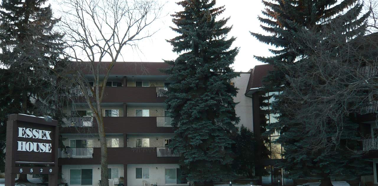 Welcome to Essex House, originally built as a high end condominium. Massive gym, gorgeous pool & hot tub area with soaring ceilings, beautiful foyer, guest suite & lounge/party room. This is NOT a conversion building. Very spacious & well maintained 1168 sq ft home, largest sized unit in the building. This end/corner unit has ideal location, southwest exposure plus huge windows! Generous entry, newer flooring 7 paint, new cabinets/counters. Bright dining rm is big enough for large furniture, open to living rm & gigantic balcony. Bedrooms are large, master features ensuite w/shower, large counter area & wall of mirrored closets. Storage closet has tons of space, upright freezer! Laundry rm is right next door & is shared by only 6 units, very quiet. Parking carport very close to exit. Adult building, pet free! Excellent transit, direct route to university. Kitty corner to strip mall featuring restaurants, coffee bar, convenience store & Dr/Dentist. CONDO FEES INCLUDE EVERYTHING!! (except phone)