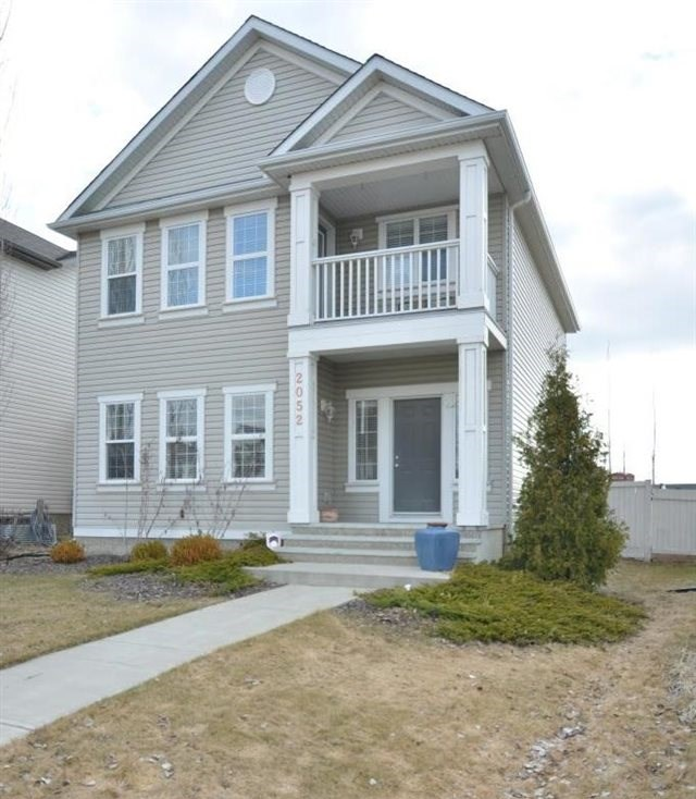 Welcome to this beautiful Homes By Avi built 2 storey located on Towne Centre Blvd just minutes to the Terwillegar Rec Center, parks & walking paths, schools, transit & shopping. The home has fantastic curb appeal,  sits on a fully landscaped, fenced lot & showcases a charming front including a balcony off the master bedroom, as well as inside/outside speakers. The backyard is finished with a large deck & detached double garage. The main has a spacious entry with front closet opening to the front living room with gorgeous hardwood floors and corner fireplace feature and wall moldings. Through to the back of the home is the eat-in kitchen with plenty of space for a large dining room table. The contemporary kitchen & dining area offer upgraded lighting fixtures, center eat-up island, stainless steel appliances, granite countertops & walk-in pantry. The upstairs offers 3 bedrooms. The master has a relaxing spa-like ensuite with soaker tub, separate shower & double sinks, & large walk-in closet.