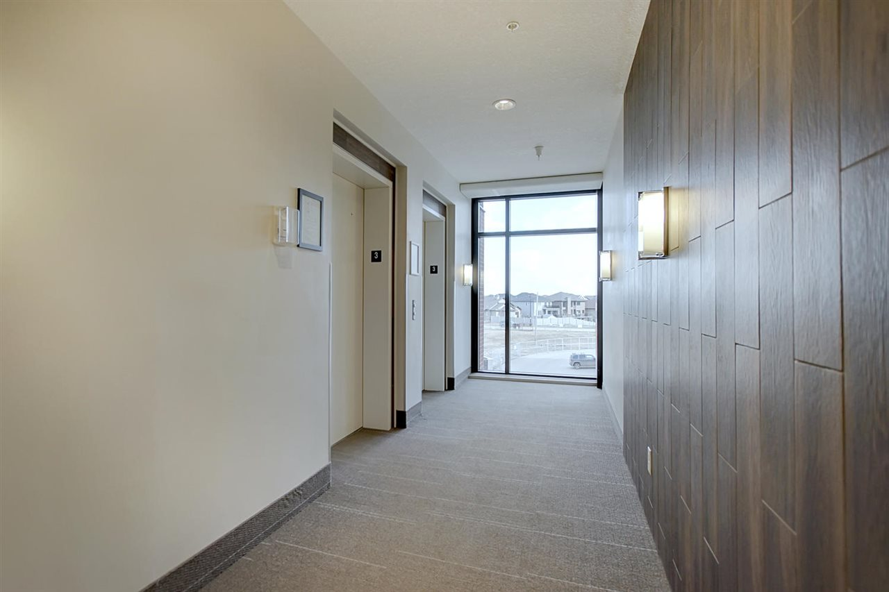 This is a view of the hallway from the elevators.