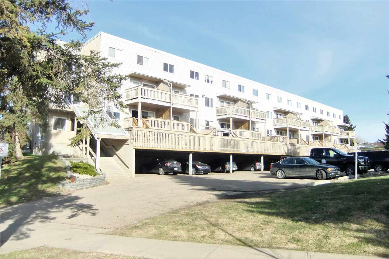 Welcome to Lacombe Estates. This well maintained 1.5 bath, 2 bedroom multi level apartment features main floor well laid out  kitchen with lots of counter space, large living room, dining area, 2 piece bath and access to a 8x12 ft balcony. Upstairs there are 2 good sized bedrooms, laundry room with plenty of storage and 4 piece bathroom. Complex was reconstructed in 2006 and is pet friendly. Close to schools, shopping, and Ray Gibbons to Anthony Henday. Exceptional Value!!!!!