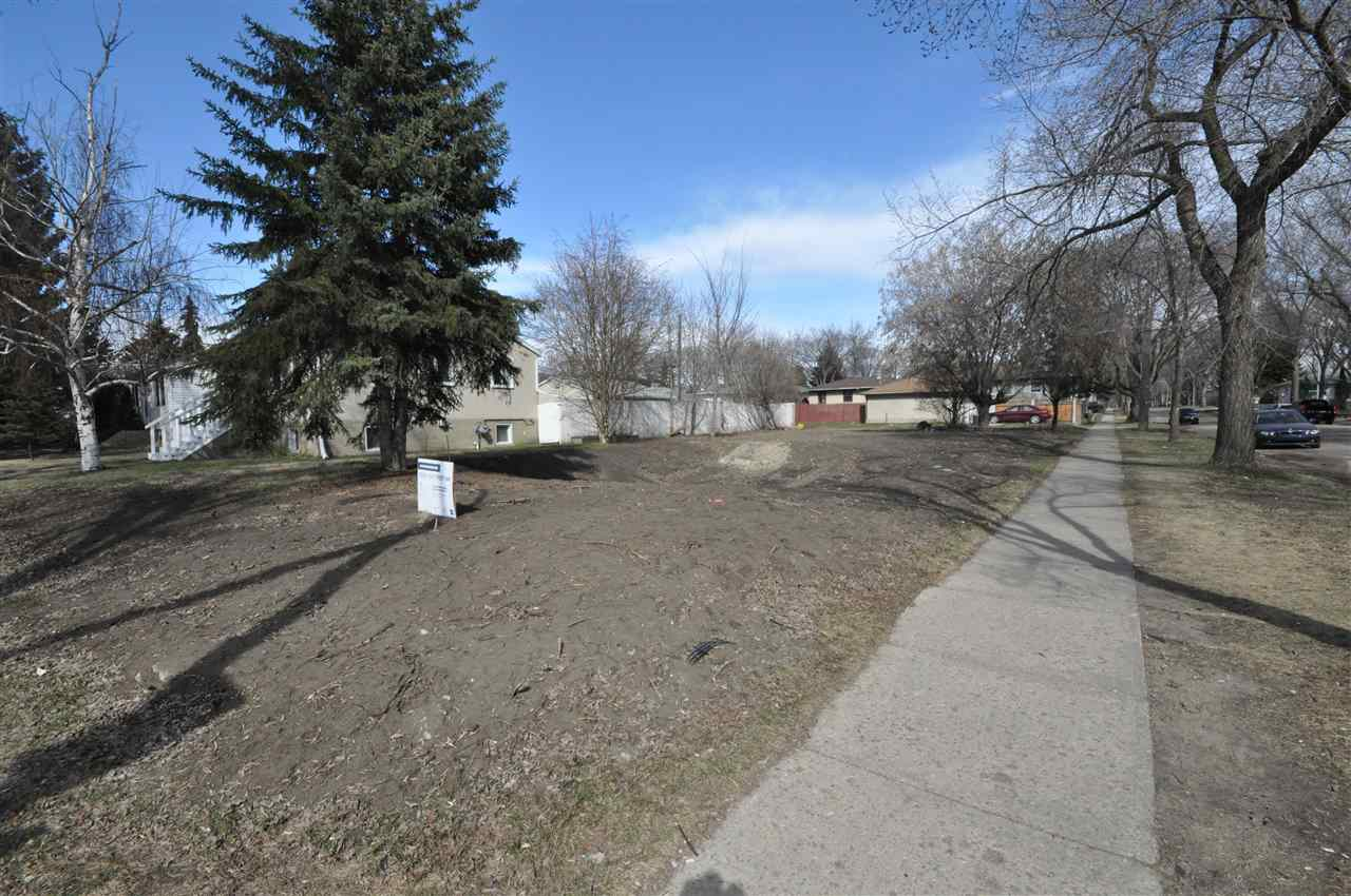 """Build your dream home! This outstanding CORNER lot is 26' 10"""" x 125' and is located in the highly sought after community of Forest Heights. The desirable lot has a downtown view and is located right across from the superb Forest Heights Park and McNally High School. This convenient location is only blocks away from Edmonton's beautiful river valley & trails, Riverside golf course and is close to all amenities. This lot is not serviced. Build that home you have always dreamed about! Don't miss out on this amazing opportunity!"""