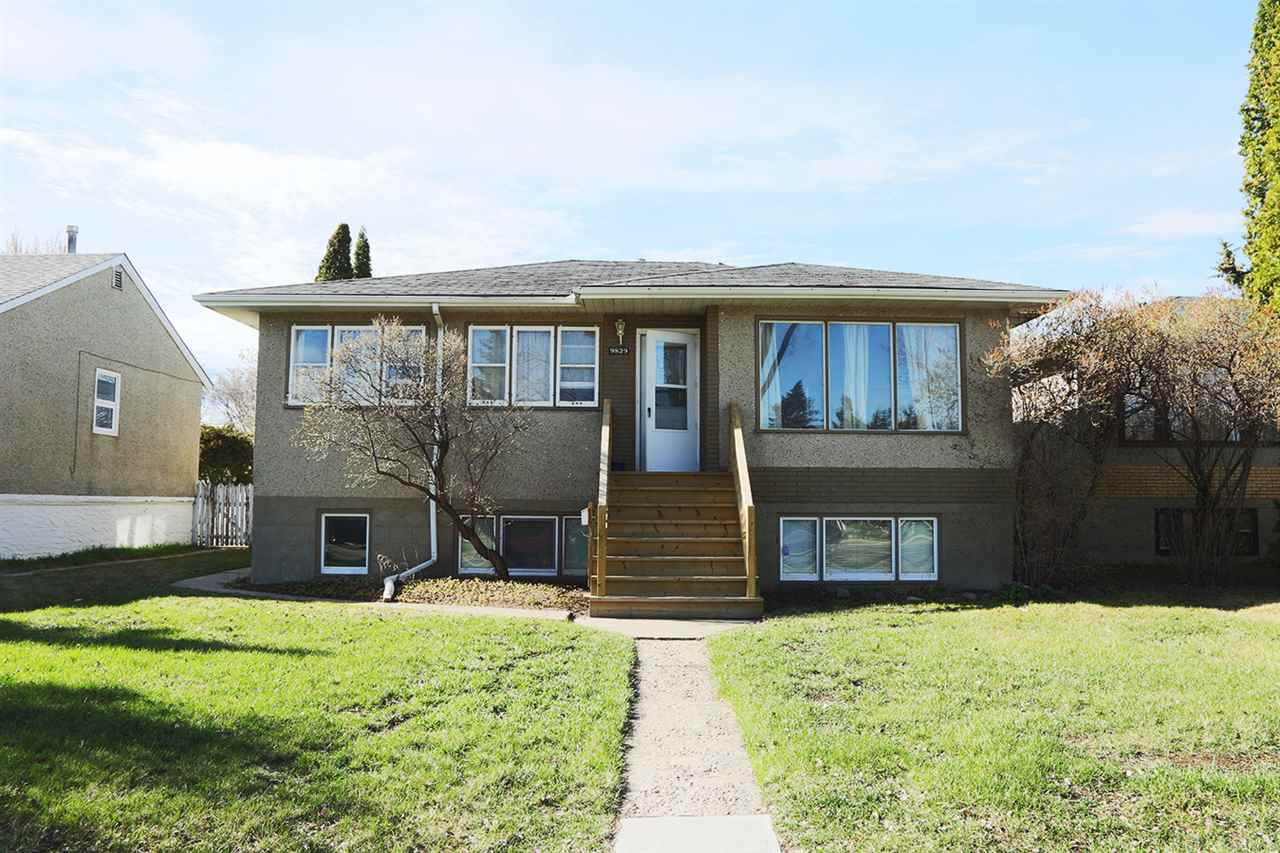 It is not just about the location with this gem but it is also about the revenue! Excellent rental property or mortage helper where you could live upstairs and rent out the basement covering a good portion of your mortage. Desirable Mature Hazeldean location right across the street from a green space and walking path. This Raised Bungalow Features a 3 bedroom main floor suite and a legal 2 bedroom basement suite with shared laundry. There have been a few updates over the last few years including several new windows, some new flooring, a few new appliances, renovated bathrooms, new front staircase & refinished deck. The back yard was professionally landscaped and a great place to enjoy the summer days with the south expsoure. 44' X 140' lot. There's plenty of parking with the oversized 24' x 26' double detached garage and space behind the garage to park atleast 2 more vehicles. This is a turnkey property with long term tenants and all appliances, window coverings, equipment & tools for yard work included.