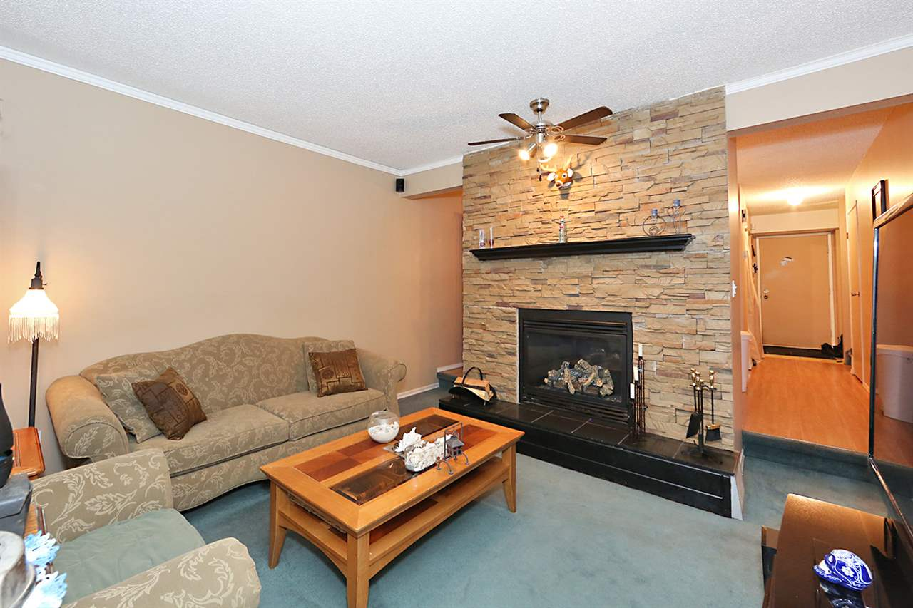 Perfect starter home for a first-time buyer - affordable 3 bdrm townhome on Edmonton's southside! Enjoy your cozy gas fireplace (w/ beautiful stone surround!), private treed yard & large, secluded balcony off of the master suite! Main floor features entry, 2 pc bath, L-shaped kitchen (w/ pantry & black appliances), dining rm & sunken living rm (w/ gas fireplace & door to private, fenced, treed yard). Upstairs, 3 large bdrms (including a master suite w/ walk-in closet, balcony & A/C window unit) & 5 pc bath (w/ his & hers sinks). Unfinished basement has laundry, built-in shelving, is roughed-in for a bathroom & is wide-open for your finishing touches - or use for storage! Unit comes with 1 covered parking stall by front door& loads of visitor parking. Building features NEW FENCES, NEW SHINGLES & NEW DECKS all done this past year. NEW FURNACE & NEWER H2O TANK ('08), NEW WINDOWS ('04), NEW CEMENT PAD, new paint throughout. Quiet neighbours. Condo fees $286/month. Quick access to 50th Street &Anthony Henday.