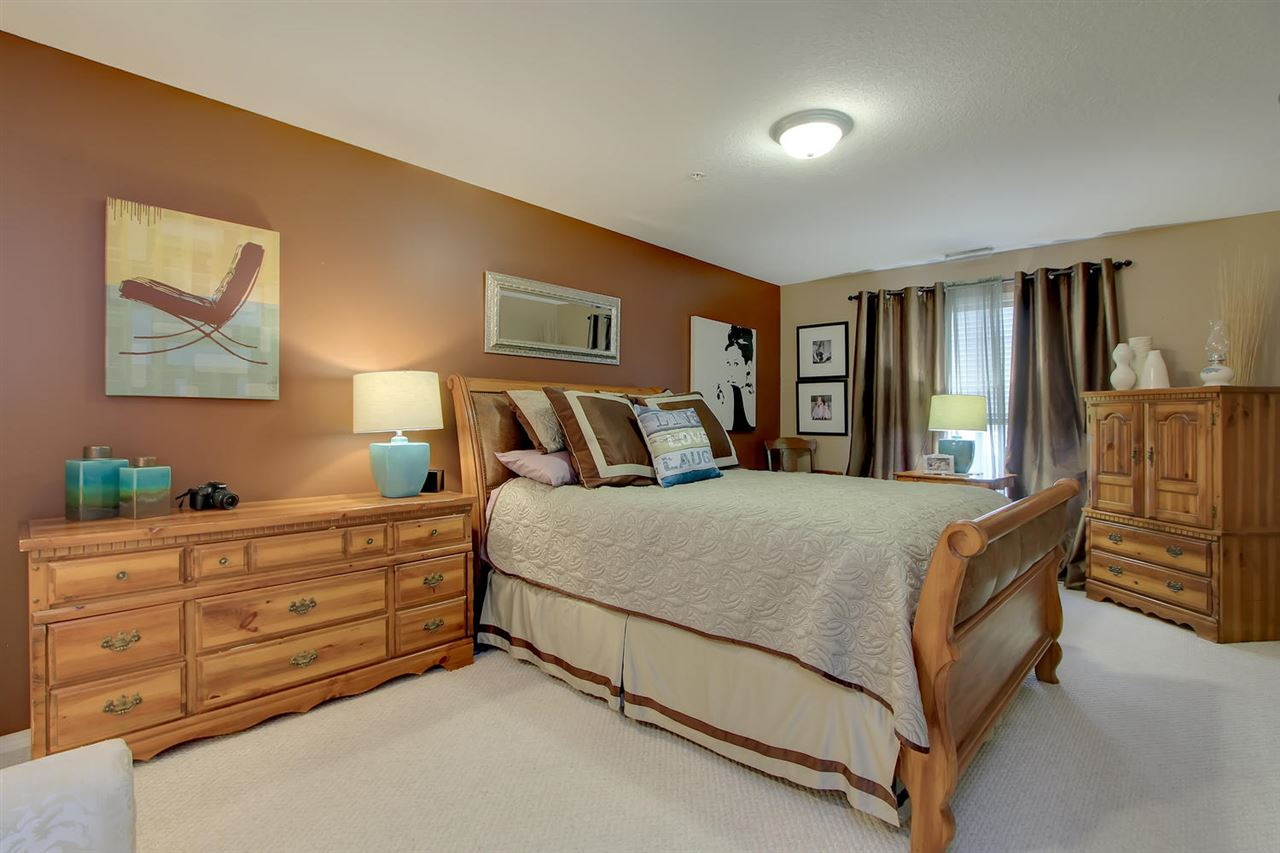 The Master bedroom is very large and so you will have no problem deciding where to place all your furniture including a king sized bed if desired.