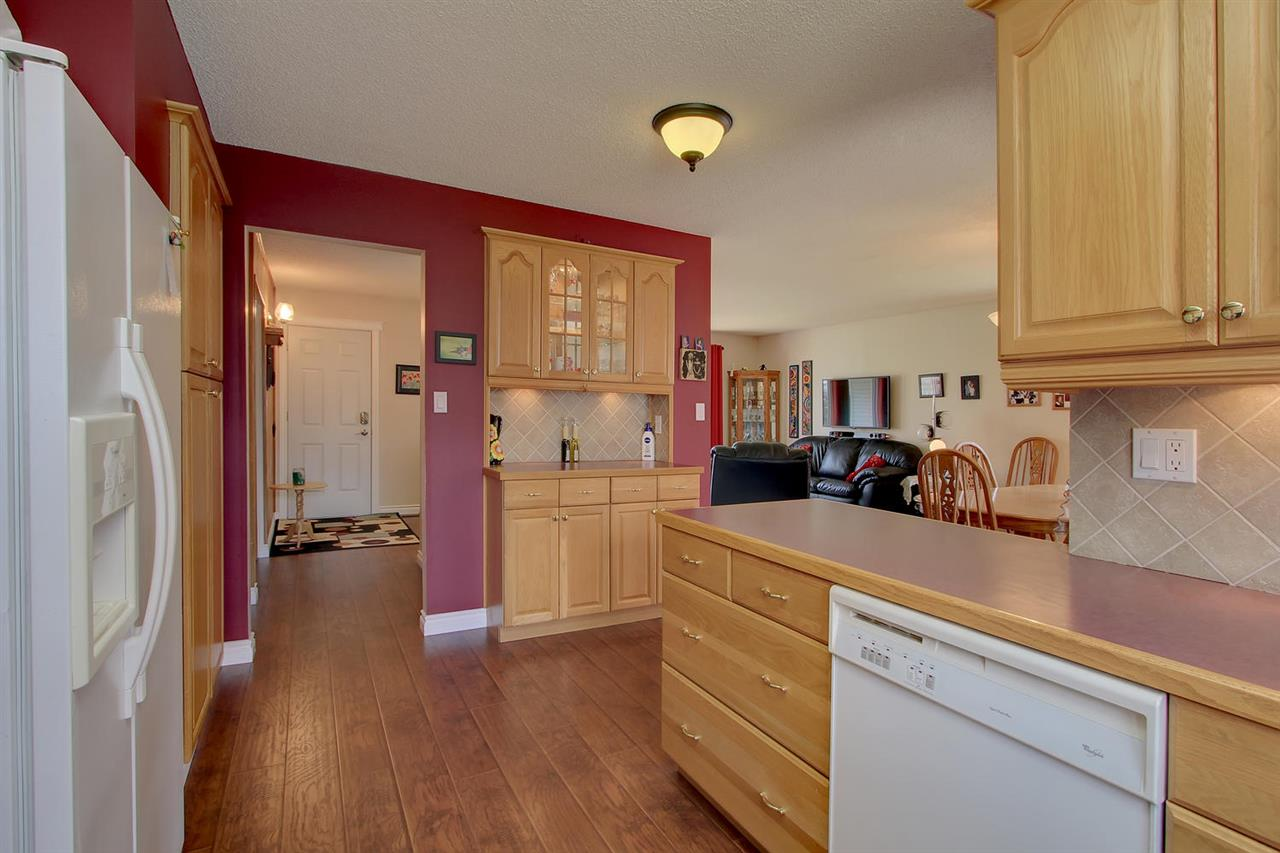 Plenty of storage space, plenty of counter space and a functional kitchen plan makes meal preparation easier.
