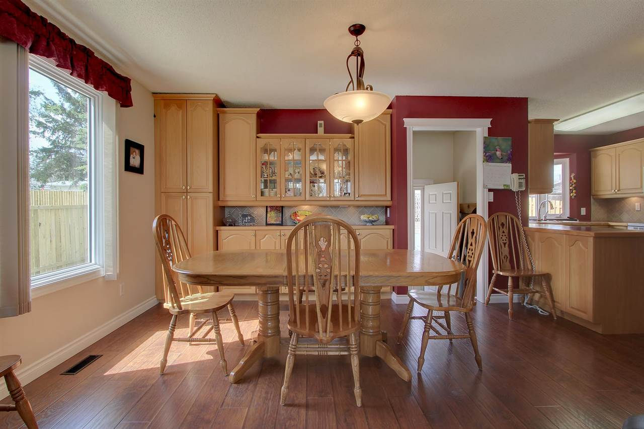 Another huge window on the dining room side of the home allows in even more light.