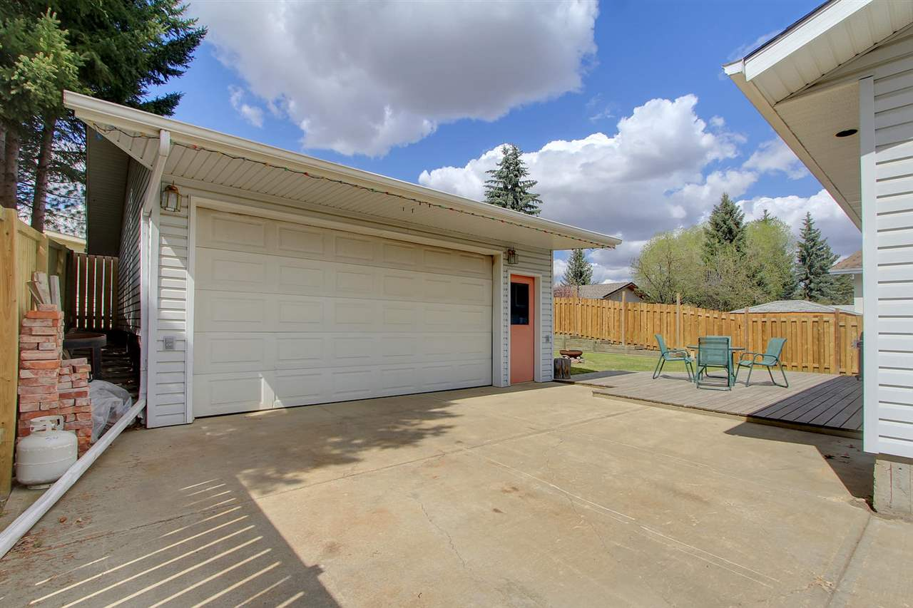 Ah! This will be Dad's favorite spot! This 24x22 garage has plenty of space for hobbies or park your vehicles inside out of the weather. There is a 22x16 space in the attic for extra storage of seasonal and other items you need stored.