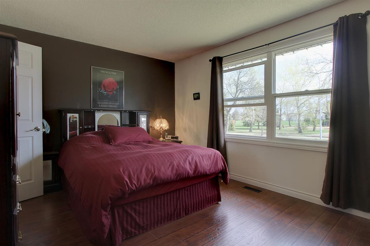 The larger new windows in the Master bedroom will bring in plenty of sunshine to your life. There is also a two piece en suite bathroom and two cupboards.