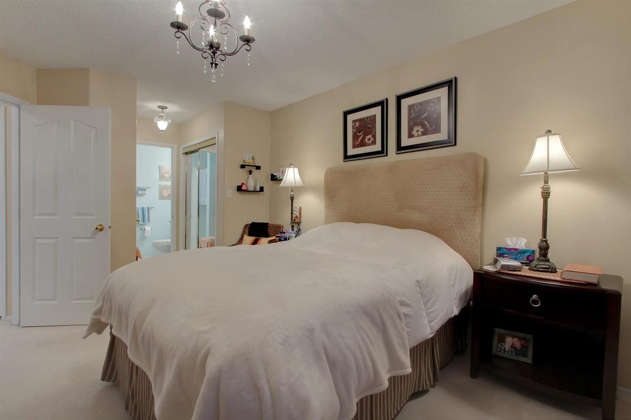 The Master bedroom has an entrance to the 3 piece en suite bathroom.