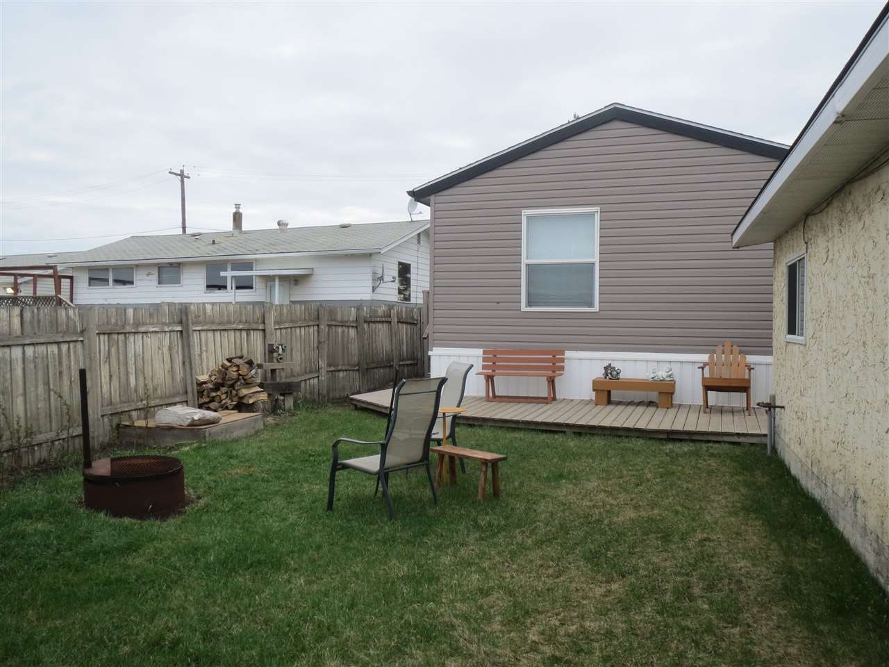 Three bedroom mobile. Fenced backyard with shed. Master bedrooms with 5 piece ensuite and walk in closet. Big Kitchen with island and corner pantry. Vaulted high ceilings. Hot water on demand. School bus to either Beaumont or Leduc.