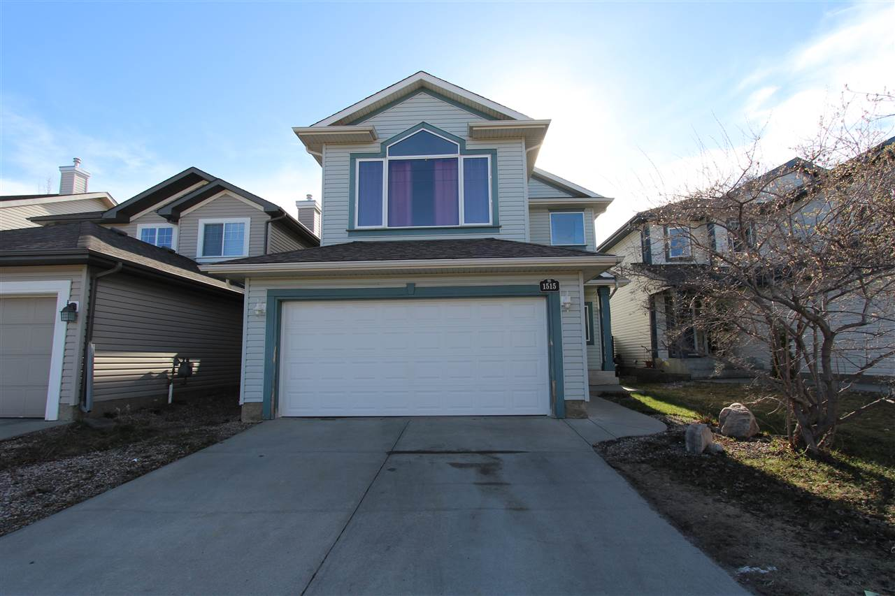 Great opportunity for a first time home buyer or investor for ownership in the desirable neighbourhood of Rutherford! This home is located on a quiet street close to schools, public transportation, shopping and easy access to the Anthony Henday. With a fantastic, family-friendly layout, this home boasts over 1,900 sq. ft. of living space. The main floor features spacious living room, kitchen with corner pantry and island and dining room overlooking the rear yard. On the upper level you are impressed with a bonus room with vaulted ceilings, three generous bedrooms including a master with ensuite and corner soaker tub. Other features such as fresh paint throughout, hardwood flooring, oversized double garage, and fully fenced and landscaped yard make this one you will to put some sweat equity into!! With a little TLC  this could be your dream home and this one is priced to sell with the lowest price per square foot listing available in Rutherford!!!!