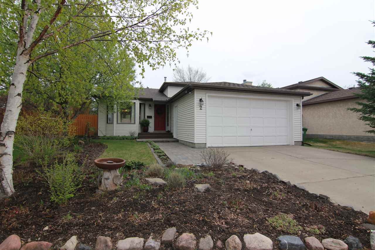 Discover this 4 level split on a QUIET CUL DE SAC in popular Deer Ridge. A long driveway, fresh cobblestone walkway and maintenance free front landing welcome you to this immaculate home. Ceramic tile flooring opens up the foyer w/ VAULTED CEILINGS into the formal living and dining room. The eat in kitchen is in the back of the home with views over the serene backyard, white cabinetry, a Bosch Dishwasher & sliding doors to back deck. The upper level has 3 bedrooms & a 4pce bath. There is a cheater door from the master bedroom into the bathroom. The lower level has a spacious family room with a WOOD BURNING FIREPLACE, 4th bedroom & a RENOVATED 3pce BATH with the laundry facilities. The basement level has lots of storage as well as a 5th bedroom. The backyard is beautifully landscaped with a dry creek & numerous trees/shrubs/perennials. This homes has seen many upgrades including newer laminate flooring, some windows, shingles (2010) & more! This NON-SMOKING home is complete with a double attached garage.