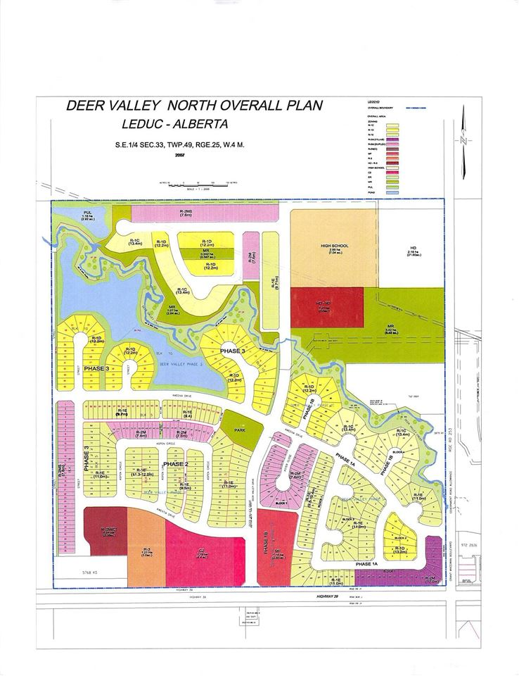 VACANT LOT READY FOR DEVELOPMENT, LOCATED IN THE BEAUTIFUL COMMUNITY OF DEER VALLEY, IN LEDUC.  CLOSE TO LEDUC COMMON AND ALL OTHER AMENITIES. EASY ACCESS TO HIGHWAY 2.