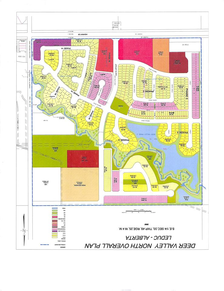 VACANT PIE SHAPE LOT IN THE BEAUTIFUL COMMUNITY OF DEER VALLEY IN LEDUC READY FOR DEVELOPMENT. CLOSE TO LEDUC COMMON AND ALL OTHER AMENITIES. CLOSE TO HIGHWAY 2.