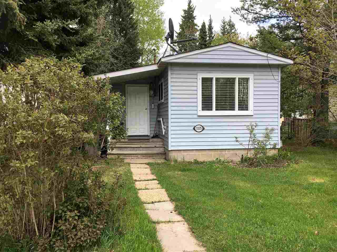 Upgraded and cozy 1 bedroom bungalow backing Breton golf course! Big private backyard on quiet street with room for RV. Many renovations over the past 10 years including bathroom plumbing, fixtures, sub-floor. drywall, trim, flooring, light fixtures and paint. Washer and dryer in partial basement. Move in ready and perfect for singles, couples or revenue property.