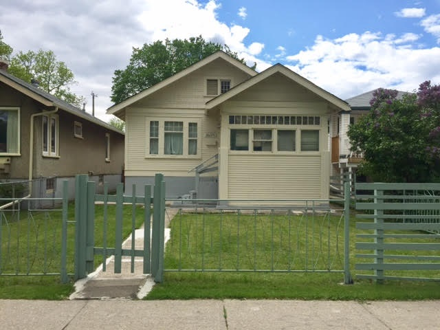 Location, location....Located in the neighborhood, Spruce Avenue. Sits on a large lot. Minutes to CHINATOWN, KINGSWAY GARDEN MALL, YELLOWHEAD TRAIL, NAIT, MACEWAN UNIVERSITY, ROYAL ALEXANDRA HOSPITAL, DOWNTOWN....Built in 1929, BUNGALOW. 2 bedrooms on main floor, separate entrance to basement with 2 other bedroom(need closets), huge backyard with concrete pad for double cars parking.  Upgraded: Some windows, hot water tank, furnace.  Priced for quick sale!