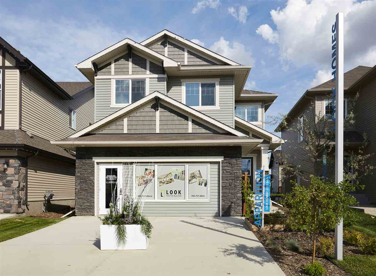 Incredible location in Chappelle Gardens ? The Apparition Showhome by Look Master Builder is a gorgeous 2 storey home with over 2212sqft; 3 bedrooms plus main floor den, tech area, 2.5 baths, bonus room & double attached oversized garage (21x22)! Entering the home, you will notice the 9 ft. ceilings & laminate flooring throughout main floor. The kitchen features; quartz countertops, upgraded cabinets, plenty of counter space, ceramic tile backsplash, island w/breakfast bar, large walk-through pantry & dining area. The living room features a gas fireplace, 2 piece bath & laundry room/boot room complete the main level. Upstairs the bonus room is perfect for family movie nights. The master suite features; sitting area w/vaulted ceiling, 5 pce. ensuite; soaker tub, shower & large walk-in closet, 2 good sized bedrooms, computer (tech) area & 4 piece bath complete the upper level. The Chappelle Gardens Experience, family living at its best!