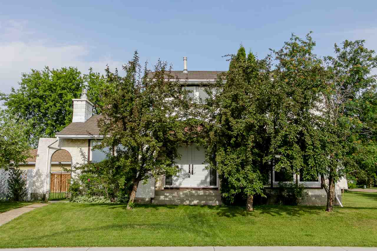 Beautiful and charming 2 storey, with 1799 sq ft, 6 bedroom home in the popular and established community of Corinthia Park, and right around the corner to Corinthia Park school. It is a perfect property for a growing family, with a large treed corner lot, oversized double detached garage and plenty of parking. Inside is a bright kitchen with oodles of cupboards and a breakfast nook. There is a cozy living room with gas fireplace, as well as a front living room, a formal dining area, spacious entrance with gorgeous double doors, and main floor laundry. Upstairs are 4 generously sized bedrooms including a master with 2 pc ensuite. The basement is nearly complete with 2 more bedrooms, a family room and cold room, the only thing left to do is the ceiling! This home has many upgrades with fresher paint and trim, newer windows and flooring, newer furnace and garage door, and the layout is fantastic!! You will love it!