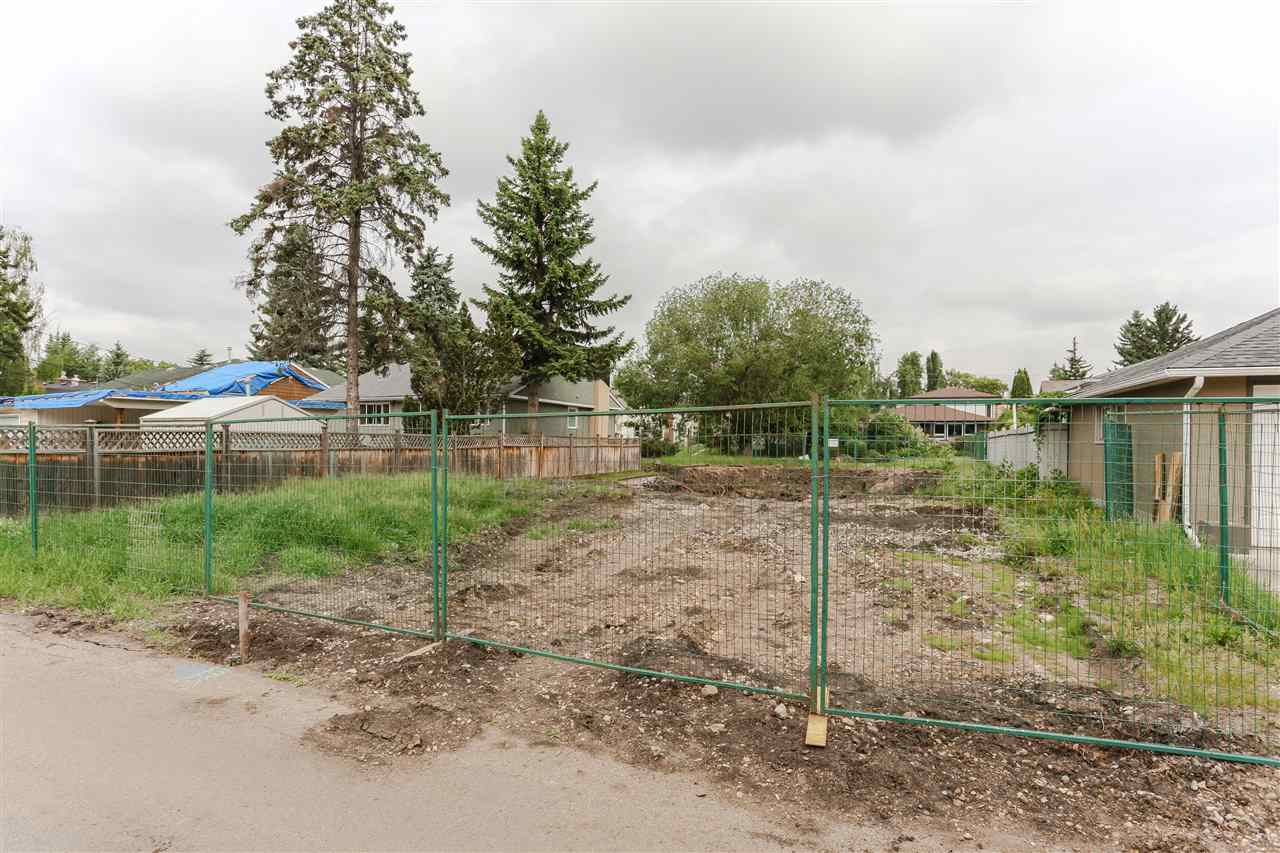 Looking to build your dream home in one of Edmonton's most desirable neighbourhoods?  Look no further than this 636.80 m2 lot that is large enough to host a grand home, or perhaps two infills?  Already approved to be subdivided.  Regardless of your buying needs this lot fits the bill & is waiting to bring your vision to life.  Just a short walk to the River Valley, U of A and Whyte Avenue.  Don't sacrifice location - this is the perfect community to build your future.  Easy Access to Whitemud Freeway, the convenience of the LRT & top rated schools for your children.  You can't go wrong, love your neighbourhood, love your home - Belgravia!