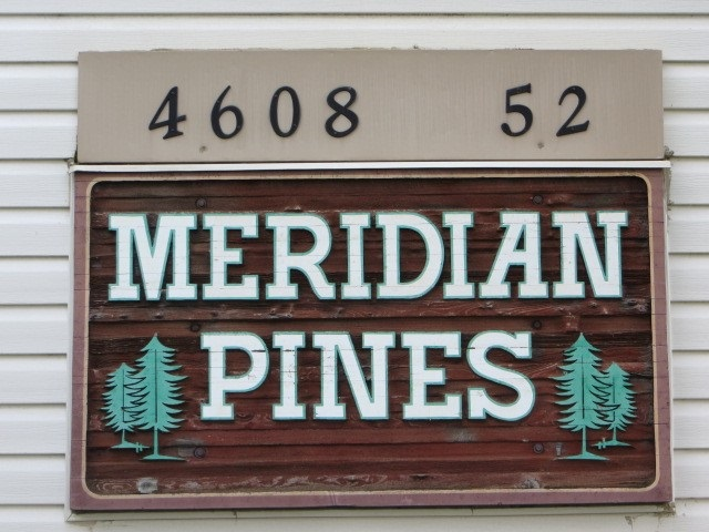 Terrific 2 bedroom condo in Meridian Pines in Stony Plain! This unit offers a great opportunity to develop equity and stop paying Rent!. It has a kitchen, a dining room, a living room, 2 bedrooms, a full bath & in suite storage. Plus a patio with a west view to enjoy those summer nights. Well managed complex by Mayfield Property Management. A great place to call home!