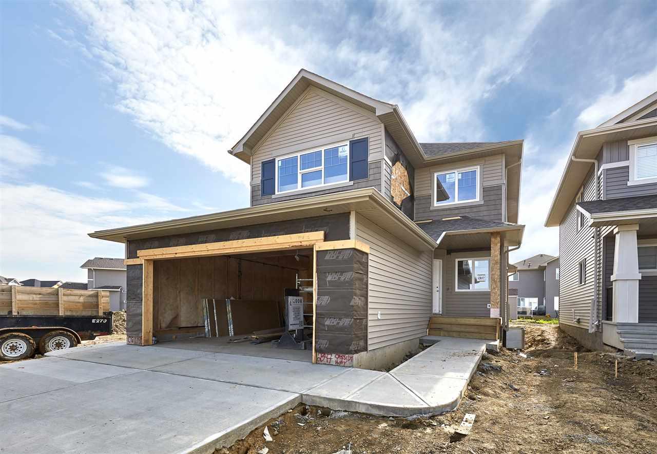 Welcome to Chappelle! The Endeavor, built by Look Master Builder, is a wonderful 2 storey 1932SQFT family home! A spacious foyer welcomes guests into your home. You will love the open concept style - plank & tile flooring throughout the main floor. The Kitchen is beautifully finished with quartz countertops, beautiful cabinets, a prep island, an extended eating bar, ceramic backsplash, a walk in pantry & a spacious breakfast nook! The living room features a electric fireplace, the private den/home office space has its own door. A laundry room, mudroom & a 2 piece bathroom complete the main floor. Retreat upstairs to the spacious master suite, which features a 4 piece ensuite (2 sinks & extra large showing) & a walk in closet. Both children rooms are a good size, and the large bonus room is the perfect place to relax with the family. Downstairs (the Basement) is unfinished with a separate entrance for a future basement suite!