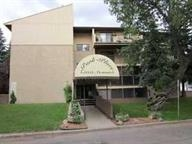 AWESOME LOCATION!  This 1 bedroom, 1 bathroom condo in Virgina Park is ideally located within close proximity to the river valley, walking trails, Ada Boulevard and across from Borden Park.  Concordia University, downtown and the LRT are just minutes away.  Offering a great floor plan in an adult building (18+) this condo has a nice modern kitchen with granite counter tops, dining area and living room.  Features include sliding doors leading to a screened patio area, in suite storage and same floor laundry.  Ideal for a student or first time buyer.