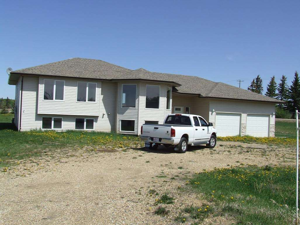"""As is where is"" - Great Schools - Great People and only 20-25 mins away from Sherwood Park and Leduc. Please note: this property has a stop order on it regarding drainage of lot and many other deficiencies. Buyers will not be able to get a mortgage on this property, and will not be able to live in it until the County of Leduc is satisfied. Offers can be made subject to Inspection, Engineers and anything else that purchasers would want to satisfy."