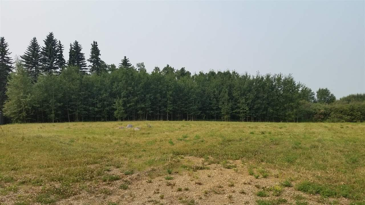 Serviced .52 acre lot with SW back yard in Falconcrest Subdivision New Sarepta, Ab.  Wonderful Value. Homes in Falconcrest shall be a minimum of 1200 sq ft above grade with a minimum double attached garage. An additional out building up to 1000 sq ft is allowed. No Trailers but Modular Homes are acceptable. Roads are paved to the subdivision entrance. Build your dream today.