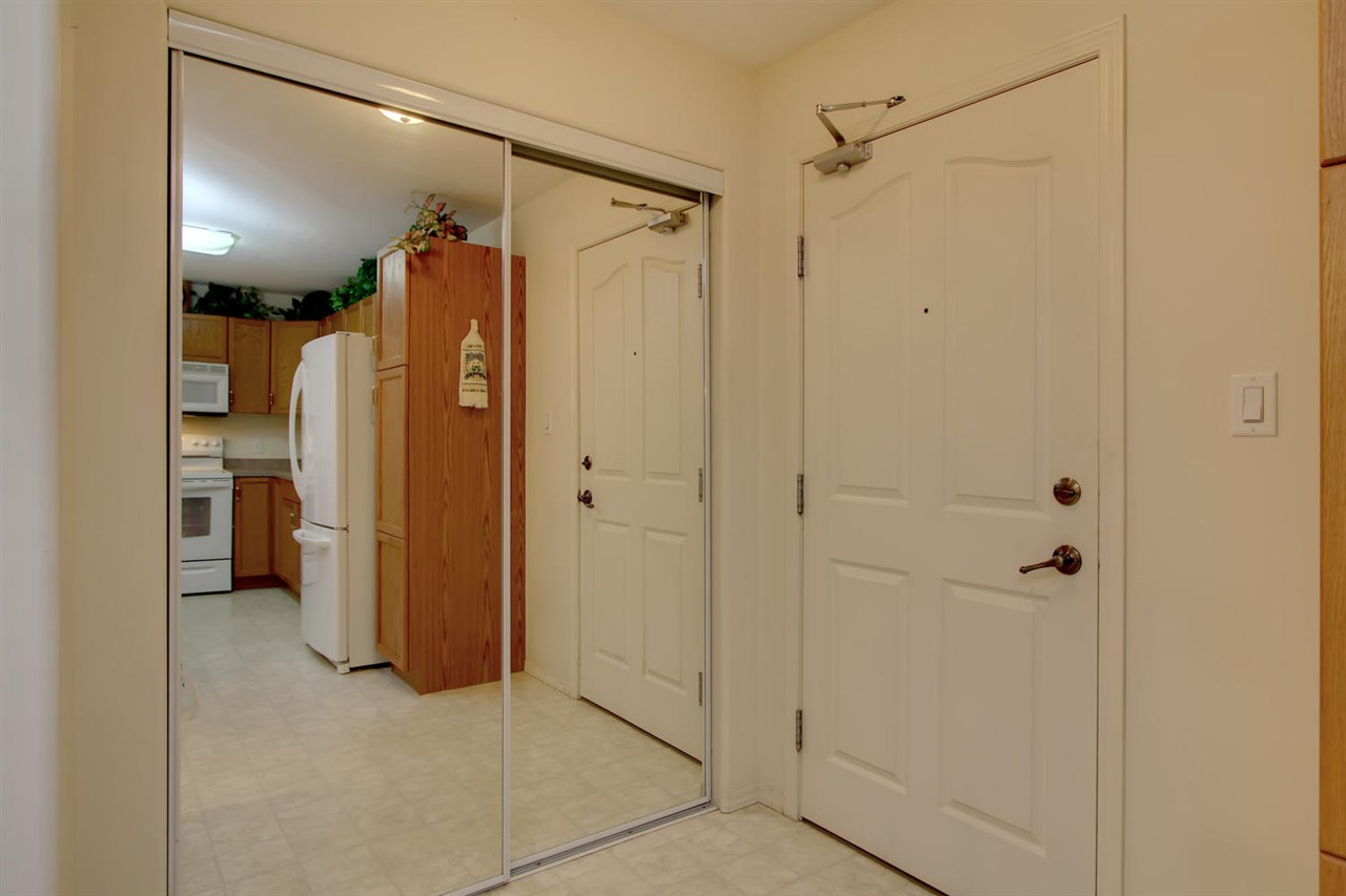 The entrance to the unit has a large closet for your coats and other outer wear.