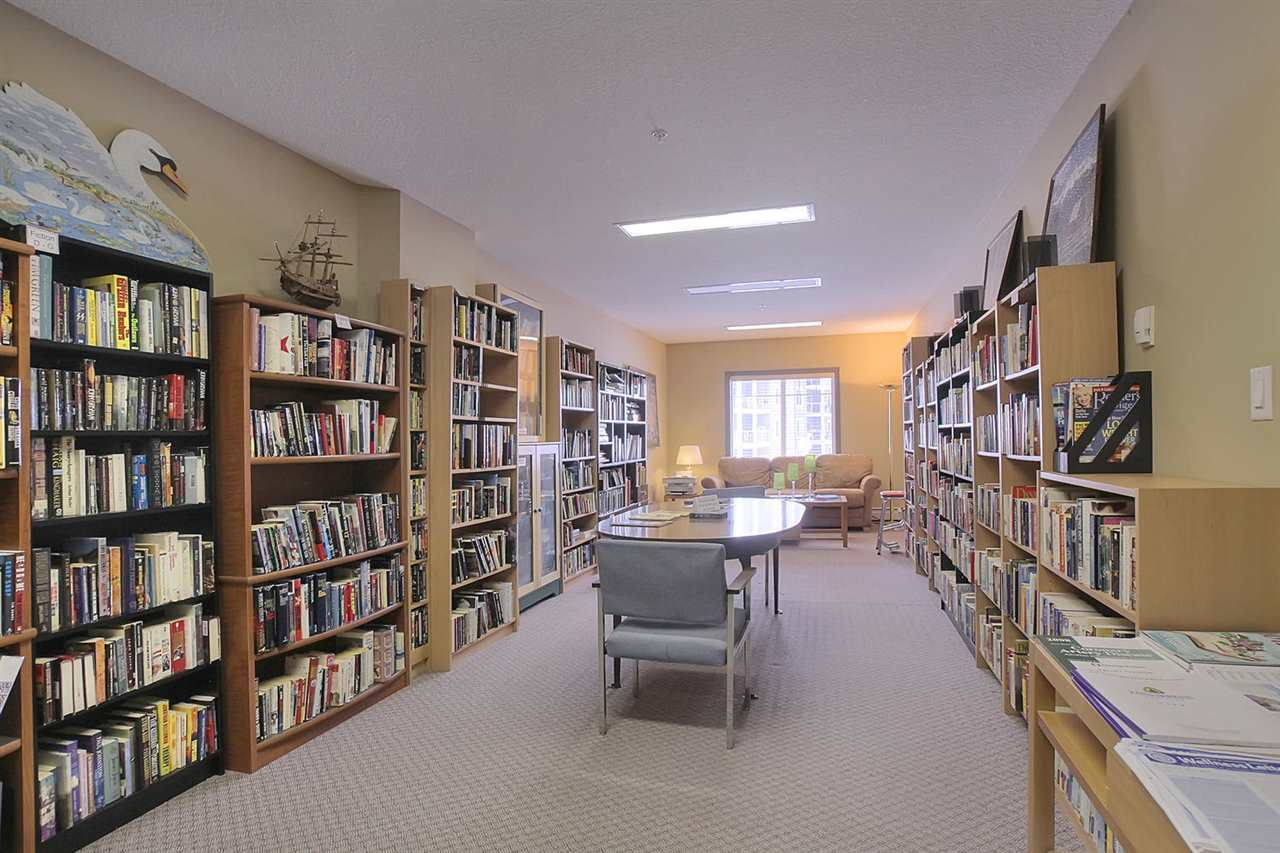 Need a change of scenery? Come pick out a good book (The books are organized by type then alphabetized). Have a seat on the love seat by the window and relax.