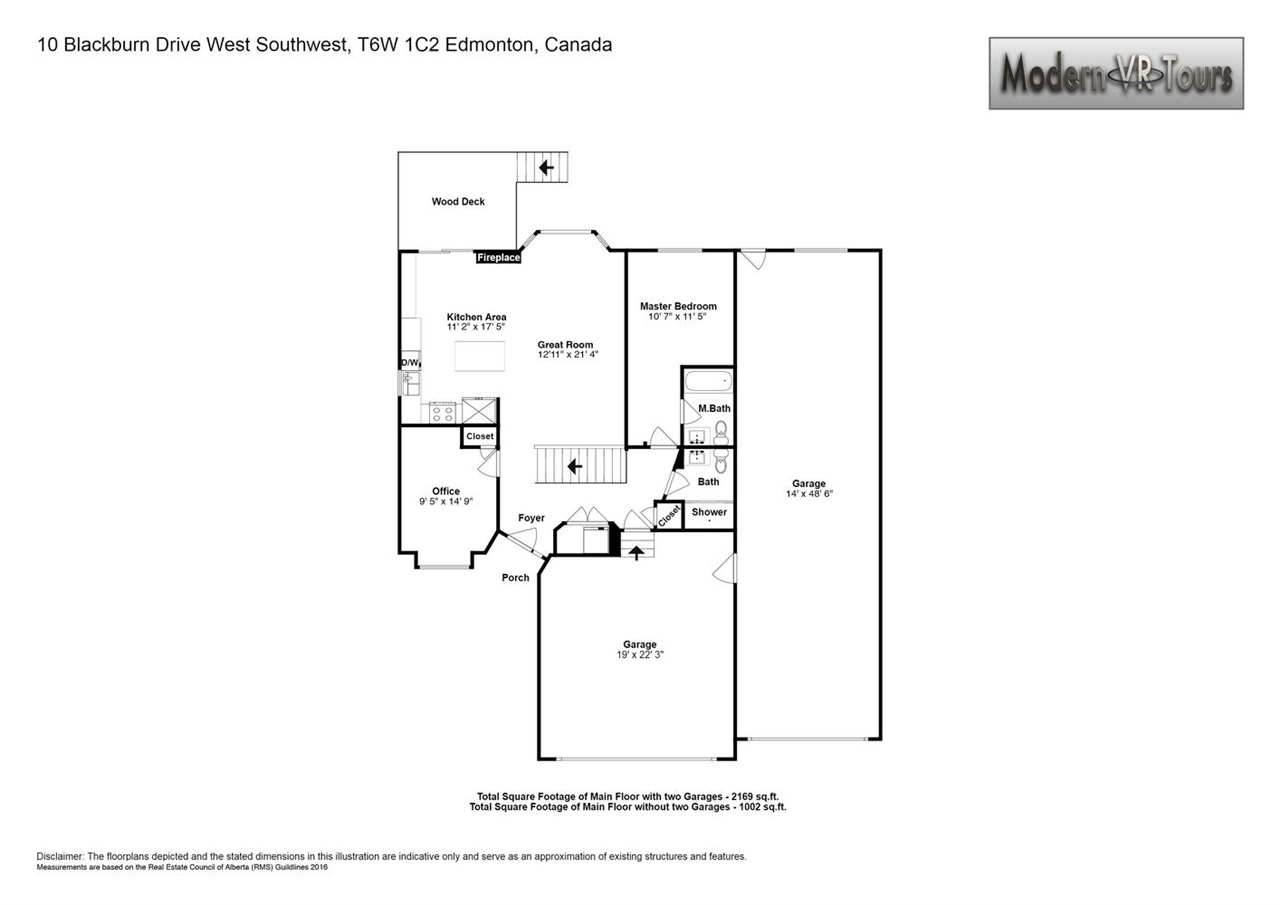 This is the layout of the main floor of the unit. It has been totally renovated on both floors.